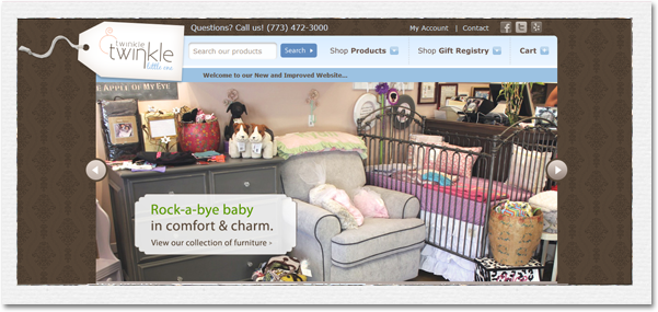 Twinkle Twinkle Little One, Chicago's premier baby and children's boutique